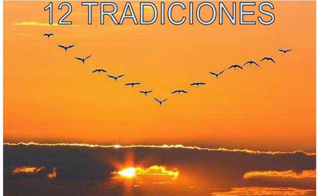 12 TRADICIONES DEL PROGRAMA DE AMOR Y SERVICIO